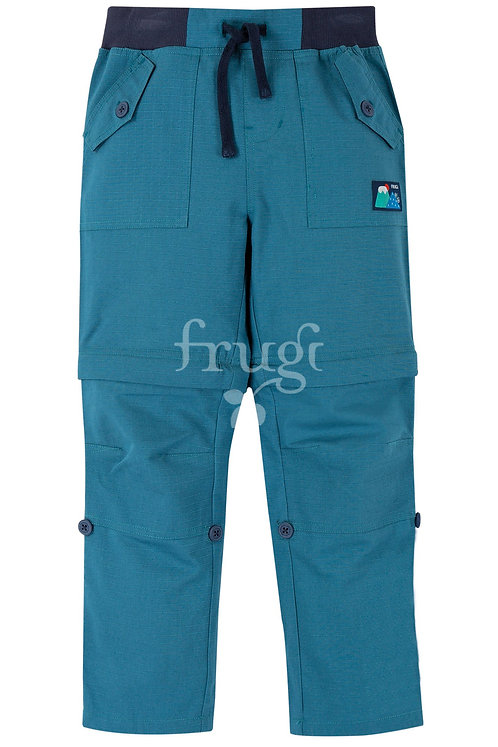 Hose TYLER ZIP ON OFF aus reiner Bio-Baumwolle