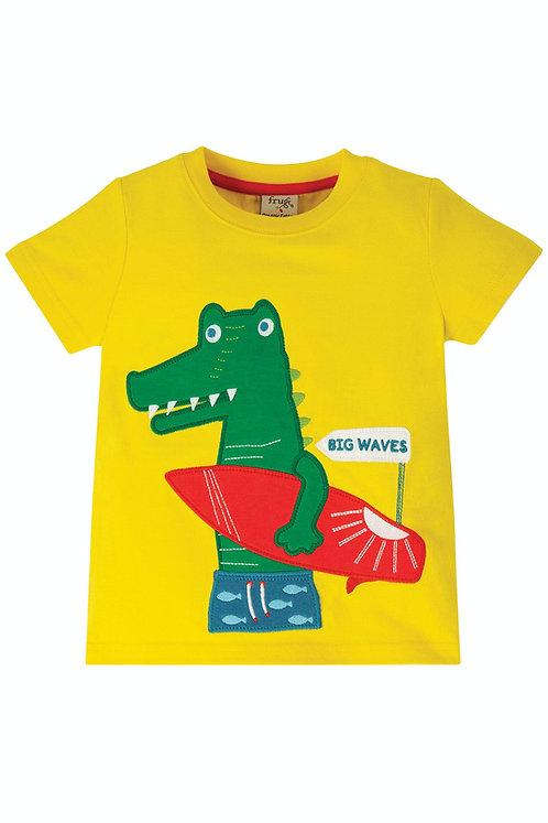 T-Shirt JAMES CROC aus reiner Bio-Baumwolle