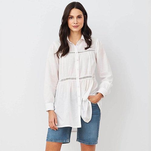 Bluse KATHARINA aus reiner Bio-Baumwolle