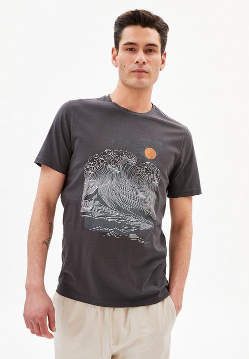 T-Shirt JAAMES BIG WAVE aus reiner Bio-Baumwolle