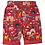 Thumbnail: Reversible-Shorts RALPH RED INDIA aus reiner Bio-Baumwolle