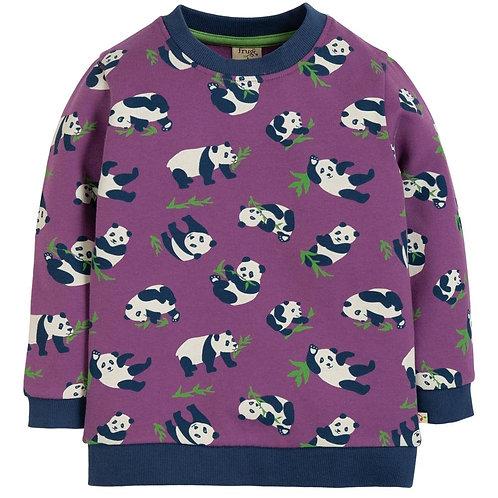 Sweater SAMMY PANDA aus reiner Bio-Baumwolle