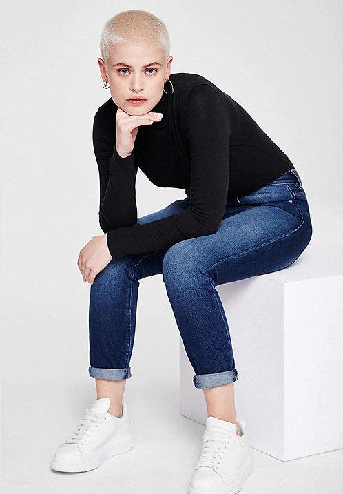 Pullover CELESTE BLACK aus reiner Bio-Baumwolle