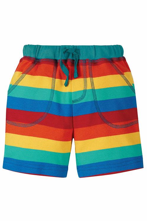 Shorts LITTLE STRIPY aus reiner Bio-Baumwolle