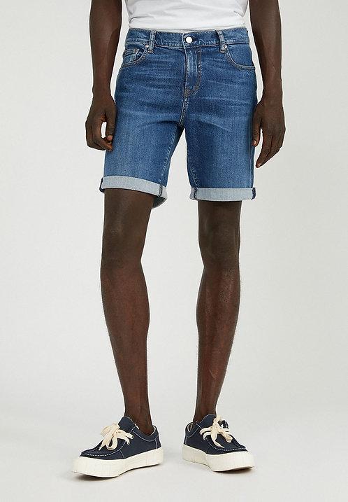Shorts NAAIL WASHED NAVY aus Bio-Baumwollmix