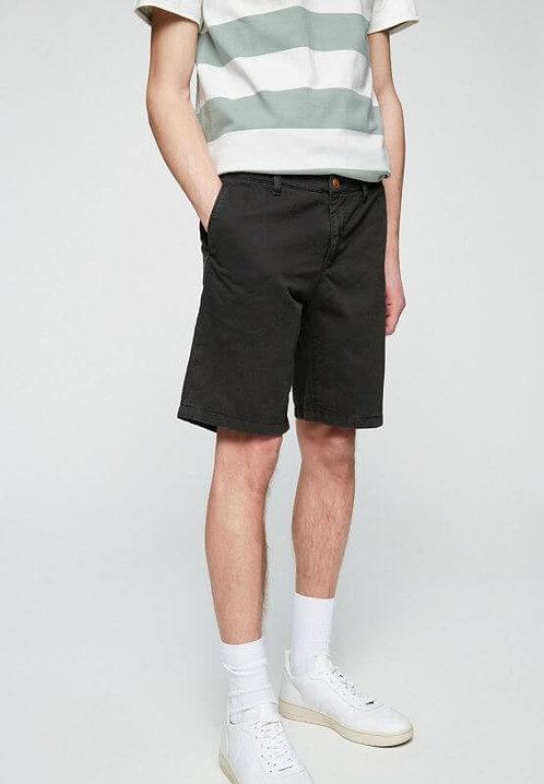 Shorts BRUCAA ACID BLACK aus reiner Bio-Baumwolle