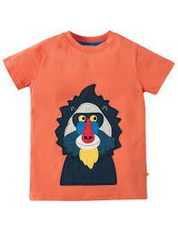 T-Shirt JAMES BABOON aus reiner Bio-Baumwolle