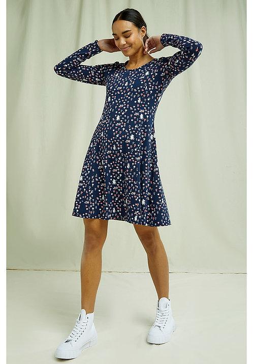 Kleid MOOMIN SCOOP NECK aus Bio-Baumwollmix