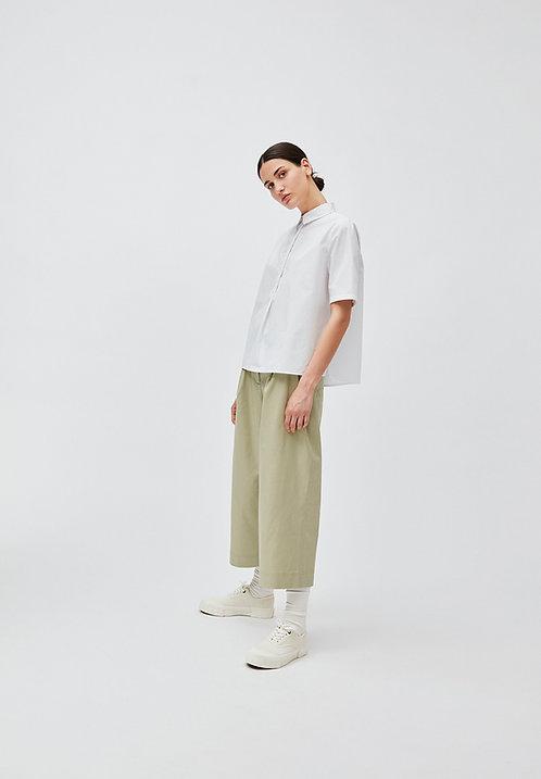 Bluse SAIMAA white aus reiner Bio-Baumwolle