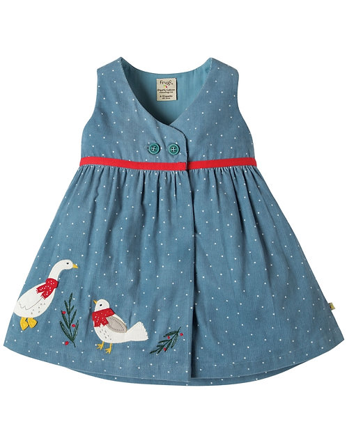 Kleid PEONY PARTY DRESS aus reiner Bio-Baumwolle