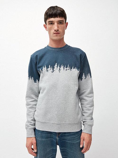 Sweater YAARICK TREELINE aus reiner Bio-Baumwolle