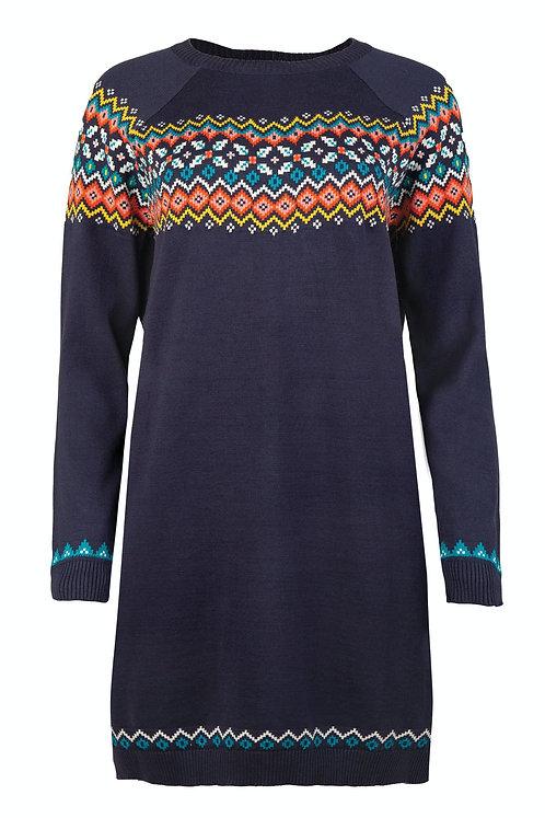 Strickkleid/Umstandskleid KATIE aus reiner Bio-Baumwolle