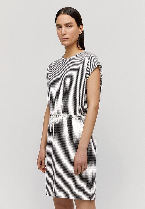 Kleid LAAIKO NIGHT SKY WHITE aus reiner Bio-Baumwolle