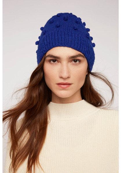 Haube BOBBLE HAT aus 100%Wolle