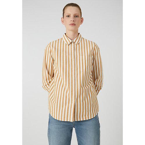 Bluse ONERVAA stripe aus reiner Bio-Baumwolle