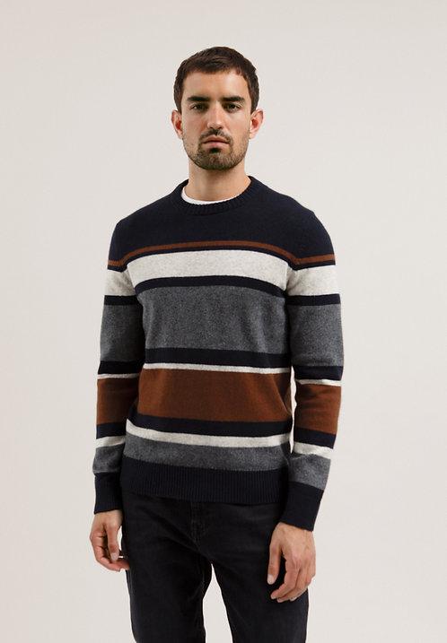 Pullover SAATO aus Bio-Baumwolle und Schafwolle