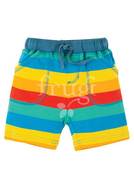 Shorts LITTLE STRIPY aus reiner Bio-Baumwolle