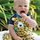Thumbnail: T-Shirt HAPPY RAGLAN LEOPARD aus reiner Bio-Baumwolle