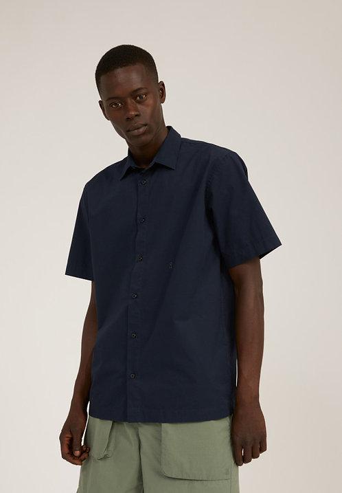 Hemd CAAMI DEPHT NAVY aus reiner Bio-Baumwolle
