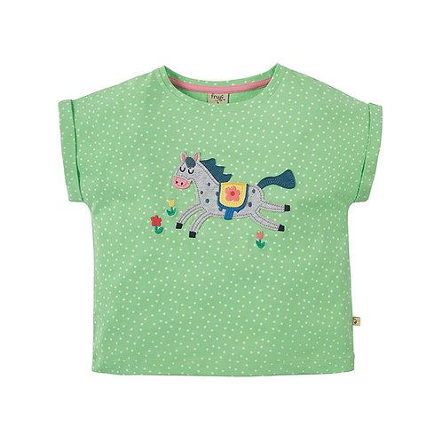 T-Shirt BELLA HORSE aus reiner Bio-Baumwolle