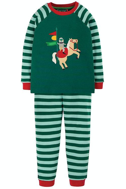 Pyjama ACE KNIGHT aus reiner Bio-Baumwolle