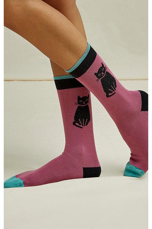 NEU: Socken CAT SOCKS aus Bio-Baumwollmix