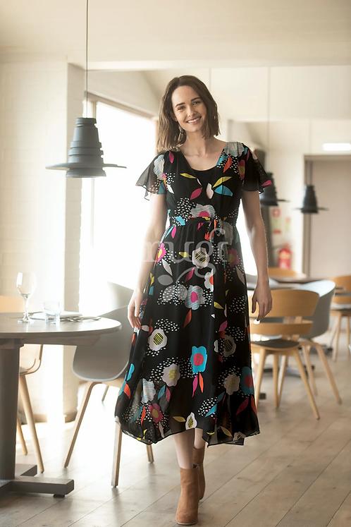 Umstands- und Stillkleid CELESTE aus recycletem Polyester und TENCEL