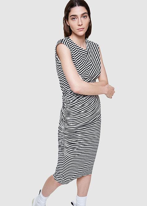 Kleid RAAYEN OFF WHITE aus Bio-Baumwollmix
