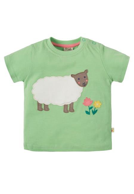 T-Shirt POLKERRIS SHEEP aus reiner Bio-Baumwolle