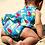 Thumbnail: Badeanzug NEWLYN NAPPY PARROTS aus recycletem Polyester