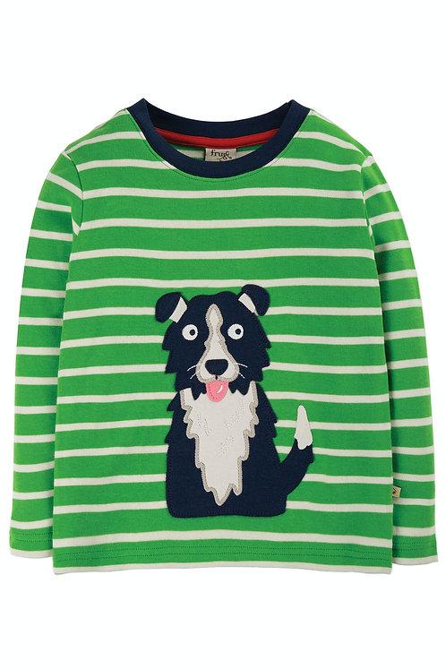 NEU: Langarmshirt DISCOVERY TOP DOG aus reiner Bio-Baumwolle