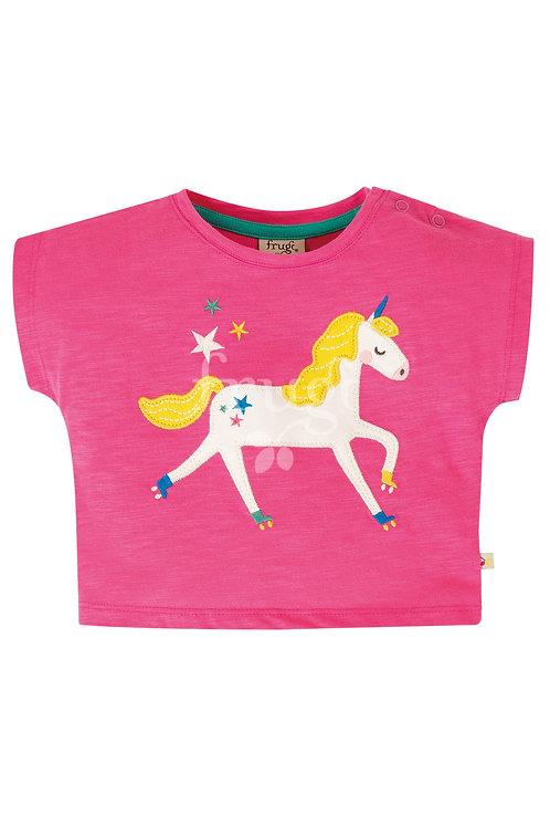 T-Shirt SOPHIA UNICORN aus reiner Bio-Baumwolle