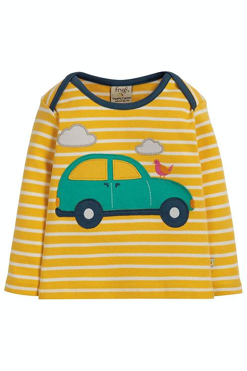 Langarmshirt BOBBY CAR aus reiner Bio-Baumwolle