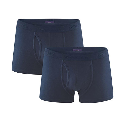 Pants 2er-Pack APOLLO NAVY aus Bio-Baumwollmix