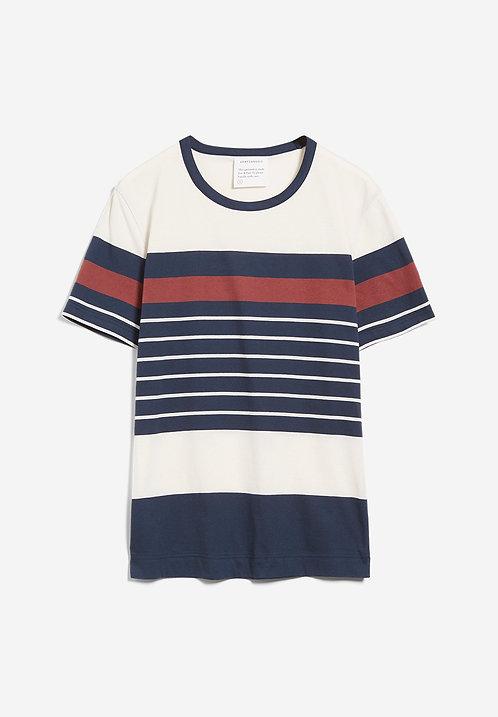 NEU: T-Shirt AANTONIO STRIPES aus reiner Bio-Baumwolle