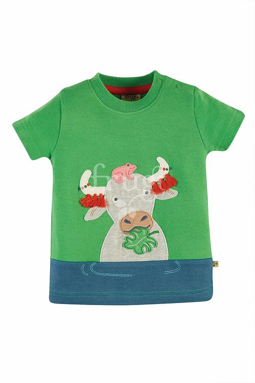 T-Shirt PENRYN BUFFALO aus reiner Bio-Baumwolle