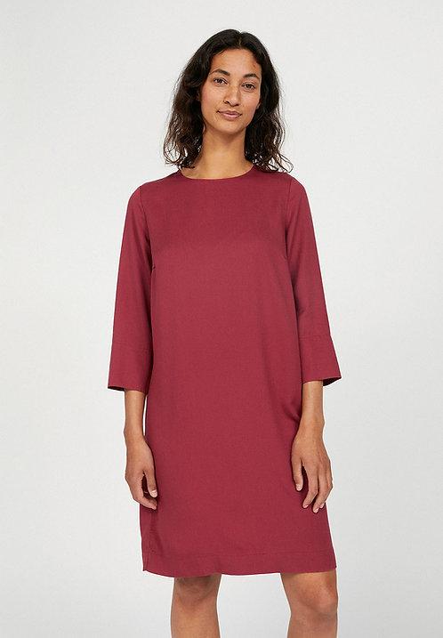 Kleid VADELMAA ROSEWOOD aus 100 % TENCEL