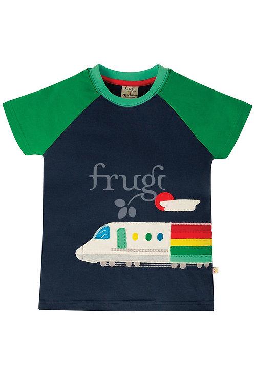 T-Shirt RAFE TRAIN aus reiner Bio-Baumwolle
