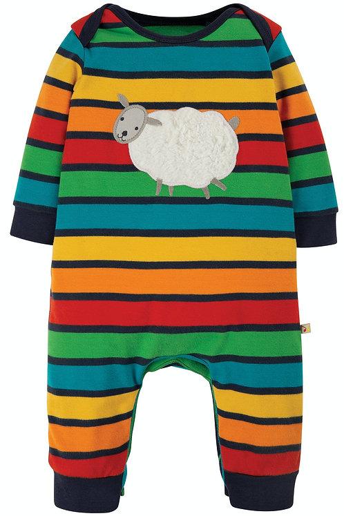 Schlafanzug CHARLIE ROMPER SHEEP aus reiner Bio-Baumwolle