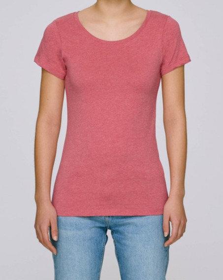 T-Shirt Damen - Cranberry aus reiner Bio-Baumwolle