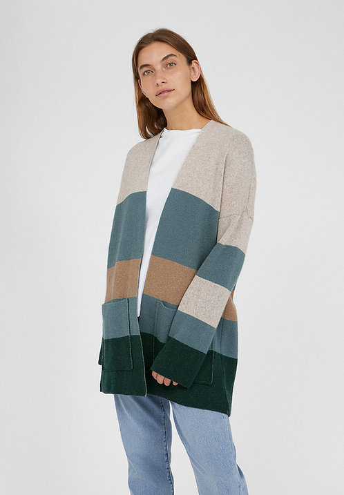 Cardigan MAAYUMI aus Bio-Baumwolle und Wolle