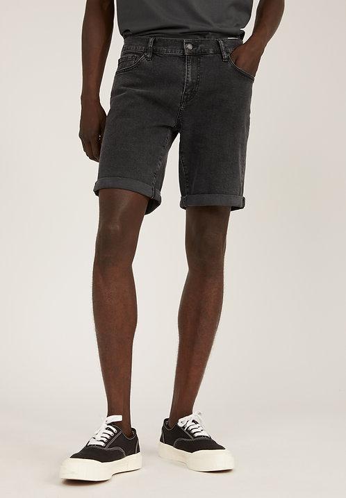 Shorts NAAIL WASHED DOWN BLACK aus Bio-Baumwollmix