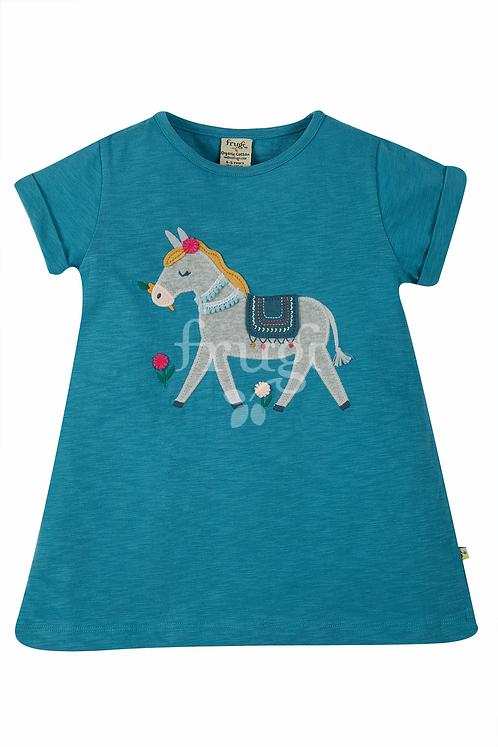 T-Shirt ARIELLA DONKEY aus reiner Bio-Baumwolle