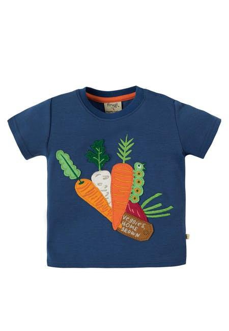 T-Shirt LITTLE CREATUR VEGGIE aus reiner Bio-Baumwolle