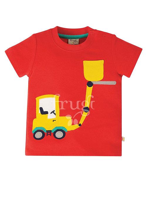 T-Shirt POLZEATH TRUCK aus reiner Bio-Baumwolle