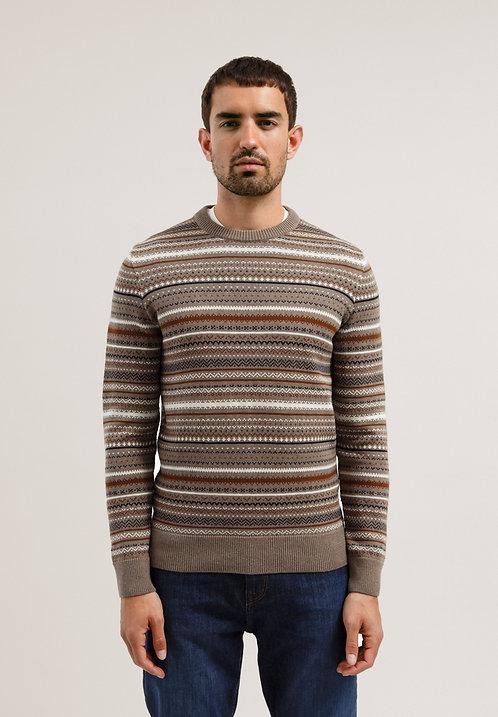 Pullover AAROS aus reiner Bio-Baumwolle