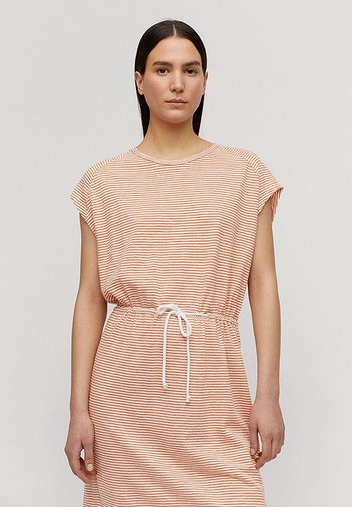 Kleid LAAIKO STARFISH WHITE aus reiner Bio-Baumwolle