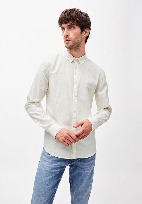 Hemd QUINAA OFF WHITE aus reiner Bio-Baumwolle