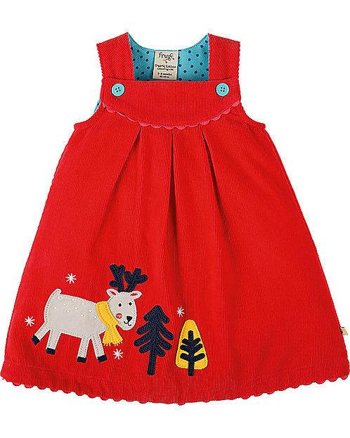 Kleid LILY CORD DRESS aus reiner Bio-Baumwolle