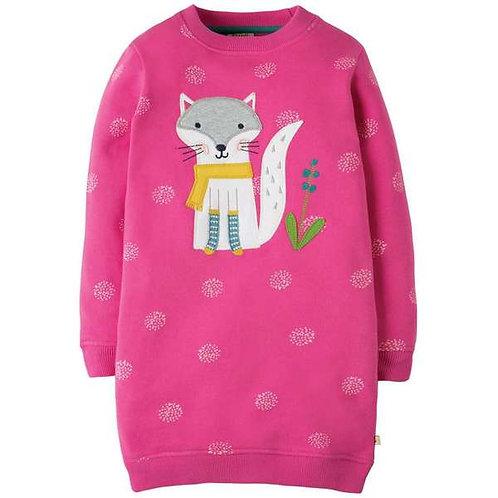 Pulloverkleid ELOISE FOX aus reiner Bio-Baumwolle